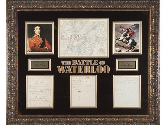 Lo que no sabías de la Batalla de Waterloo: Artículo por Morton Subastas